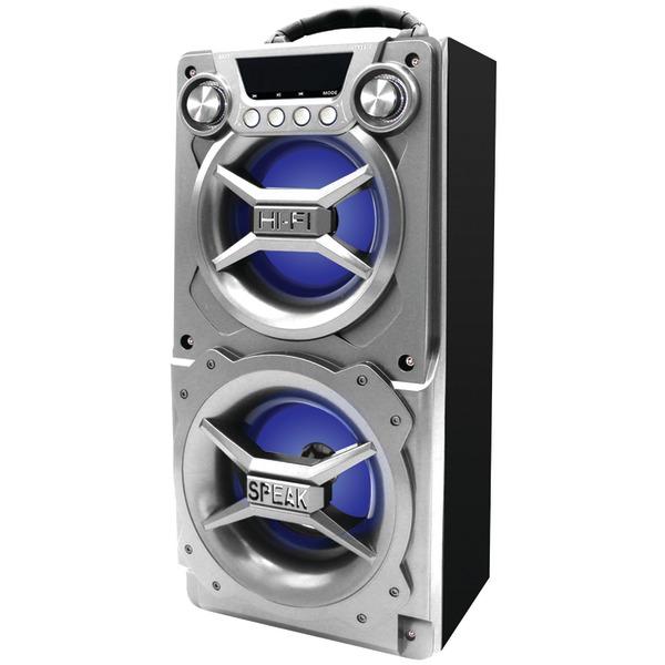 SYLVANIA SP328-SILVER Bluetooth Speaker with Speakerphone (Silver)