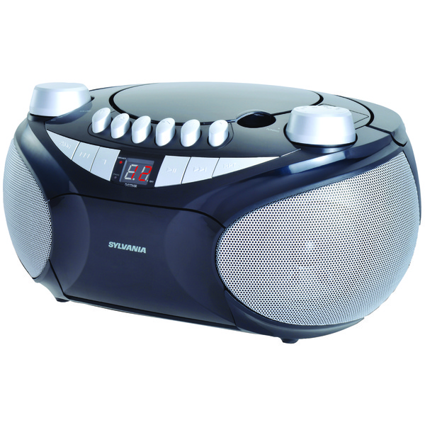 SYLVANIA SRCD286 Portable CD Radio Boom Box