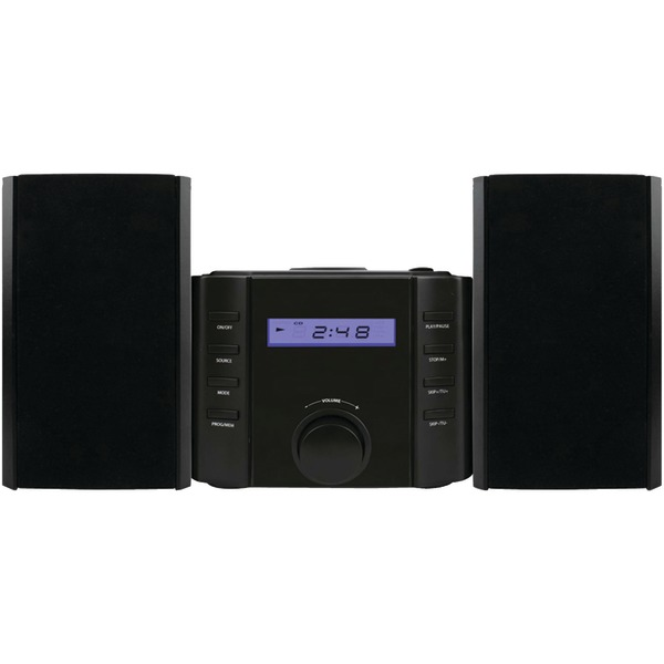 SYLVANIA SRCD804BT Bluetooth CD Microsystem with Radio
