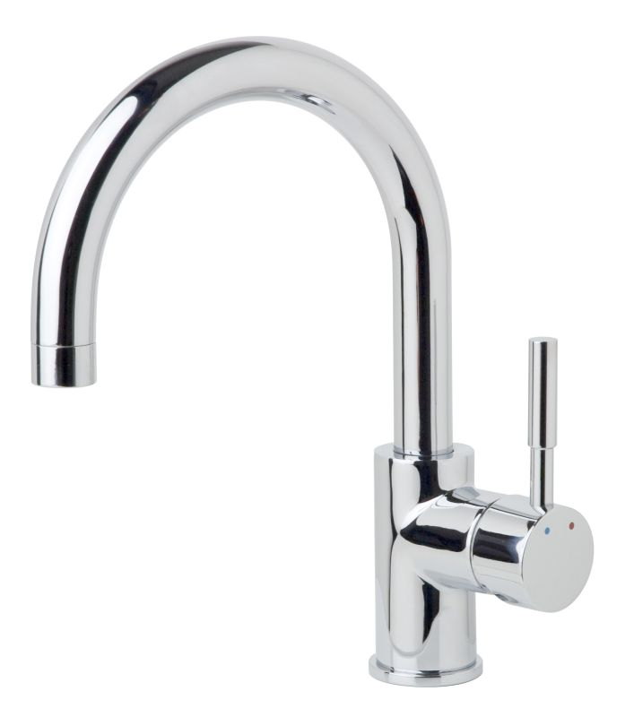 California Energy Commission Registered Lead Law Compliant 1.5 Gallons Per Minute 1 Handle Lever Bar Faucet *DIA Chrome