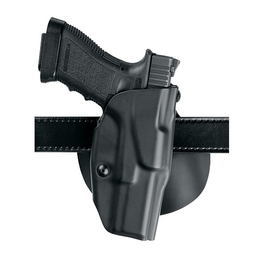 6378 Holster STX Plain Black RH SprgFd XD 4in
