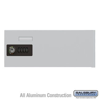 Salsbury Industries Replacement Door with Resettable Combination Lock - Standard B Size - for Cell Phone Locker - Aluminum at Sears.com