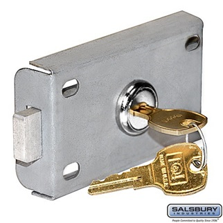Front Access Panel Lock - Replacement Lock - for Cell Phone Storage Locker with Front Access Panel - with (2) Keys