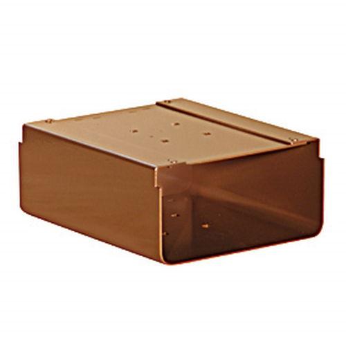 Newspaper Holder - for Designer Roadside Mailbox - Copper