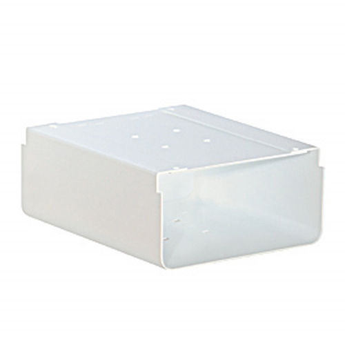 Newspaper Holder - for Roadside Mailbox and Mail Chest - White