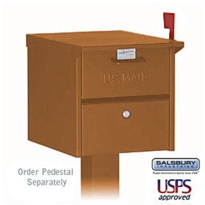 Designer Roadside Mailbox - Copper