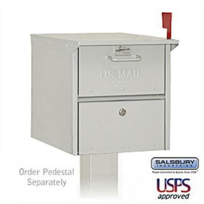 Designer Roadside Mailbox - Nickel