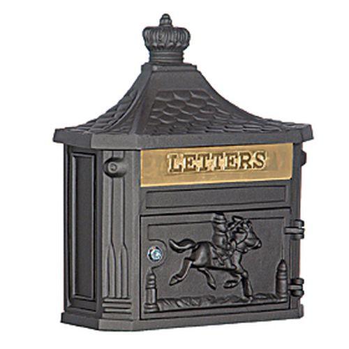 Victorian Mailbox - Black
