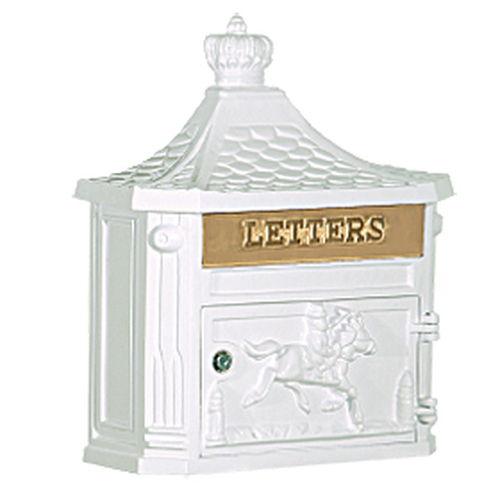 Victorian Mailbox - White