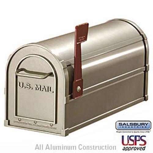 Antique Rural Mailbox - Nickel