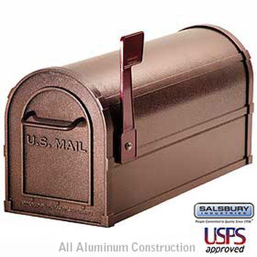 Deluxe Rural Mailbox - Mocha