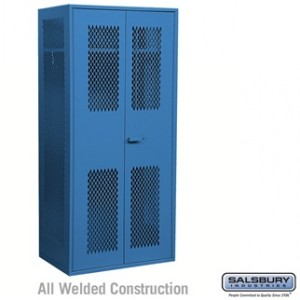 Salsbury Industries Military TA-50 Storage Cabinet - 78 Inches High - 24 Inches Deep - Blue at Sears.com