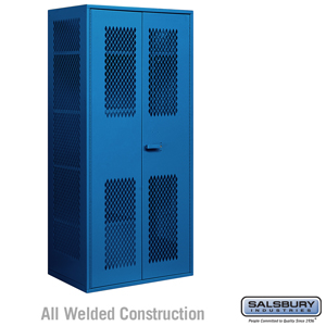 Military Combination Storage Cabinet - Blue