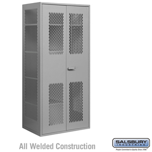 Salsbury Industries Military Combination Storage Cabinet - Gray at Sears.com