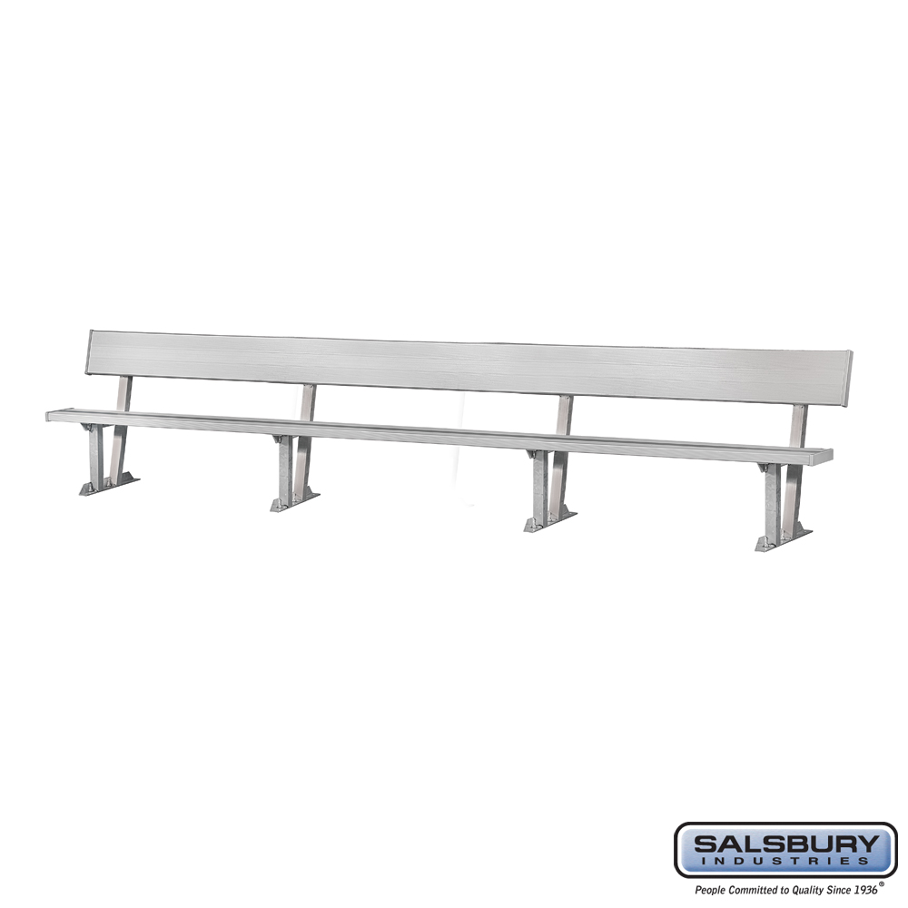 Team Bench - Standard - 21 Feet Length