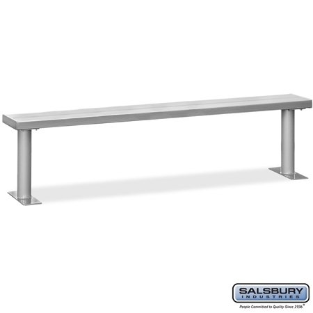 Aluminum Locker Benches - 96 Inches Wide