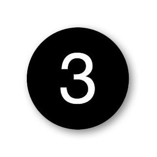 Custom Engraved Number Plate - for Open Access Designer Locker and Designer Gear Locker Door