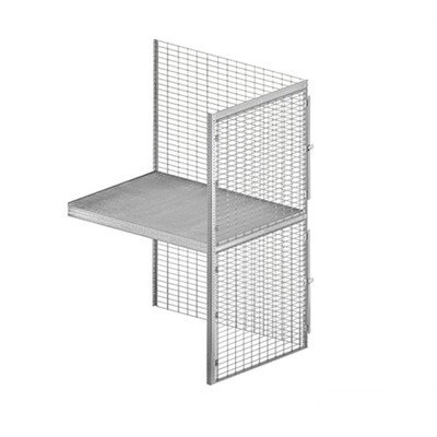 Bulk Storage Locker - Double Tier - Add On - 36 Inches Wide - 48 Inches Deep