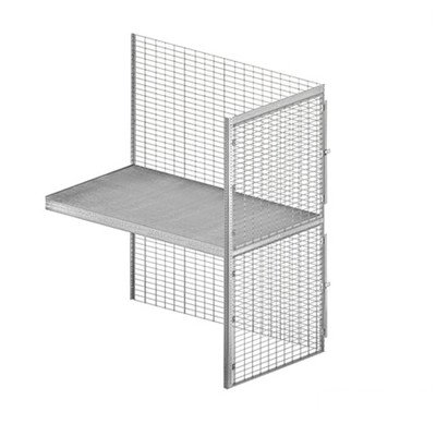 Bulk Storage Locker - Double Tier - Add On - 36 Inches Wide - 60 Inches Deep