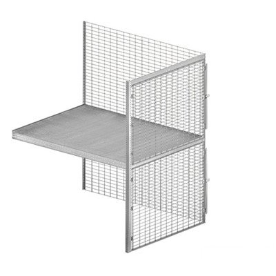 Bulk Storage Locker - Double Tier - Add On - 48 Inches Wide - 60 Inches Deep