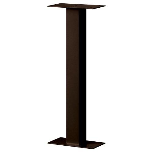 Standard Pedestal - Bolt Mounted - for Designer Roadside Mailbox - Bronze