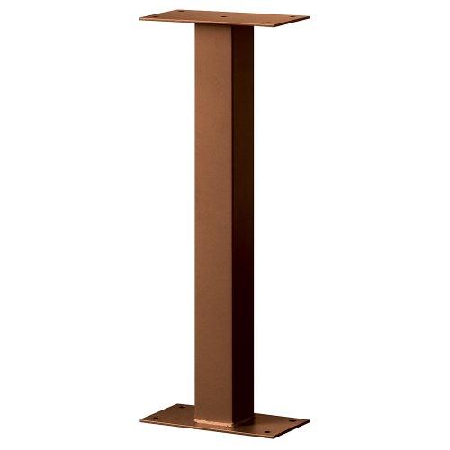 Standard Pedestal - Bolt Mounted - for Designer Roadside Mailbox - Copper