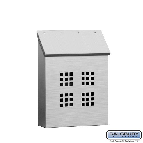 Stainless Steel Mailbox - Decorative - Vertical Style
