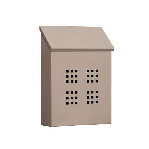 Traditional Mailbox - Decorative - Vertical Style - Beige