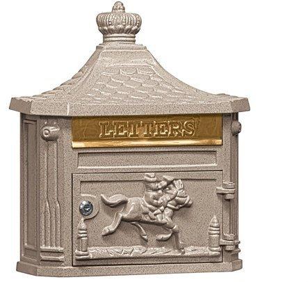 Victorian Mailbox - Beige