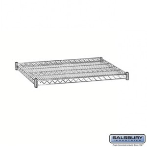 Additional Shelf - for Wire Shelving - 36 Inches Wide - 24 Inches Deep - Chrome