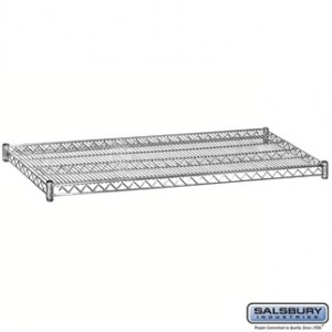 Additional Shelf - for Wire Shelving - 60 Inches Wide - 24 Inches Deep - Chrome