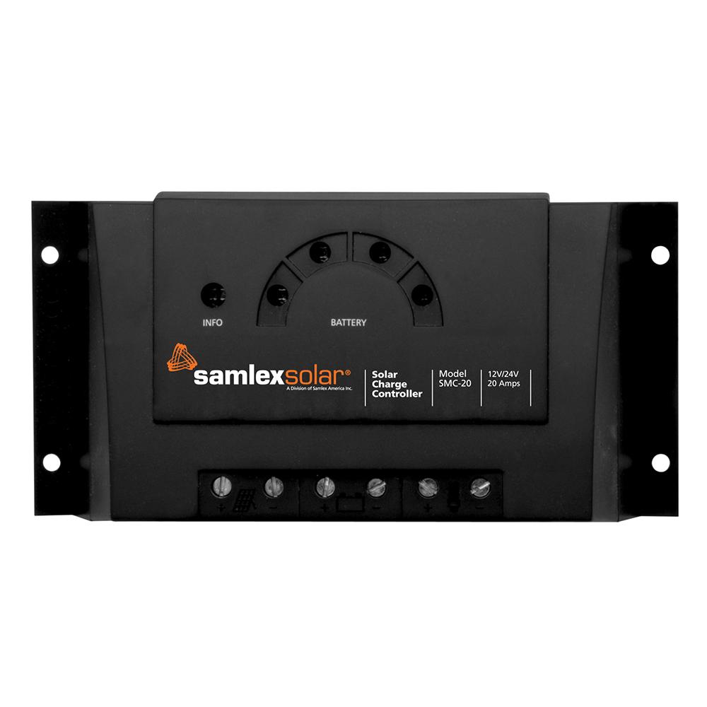 Samlex Charge Controller w/LED Display - 12V/24V - 20A