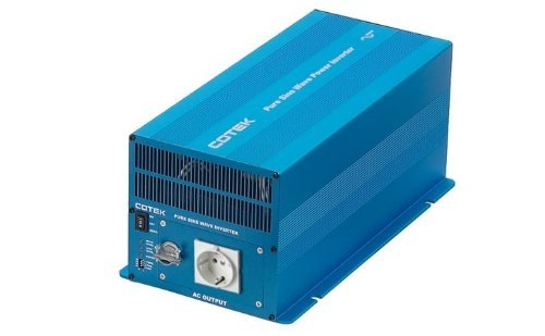 Inverter DC-AC Pure Sine Wave, 12 VDC Input, 220 VAC Output, 2000 Watts, High Surge