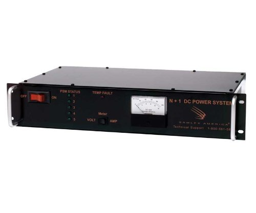 DC Switching Power Supply.Input: 120 VAC, Output: 24 VDC, 50 Amps