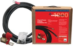 1000W Inverter Install Kit:.Kit Contains: (1) 100A fuse assembly (includes fuse),.(1) 10 Ft AWG# 4 Positive Cable, (1) 10 Ft A
