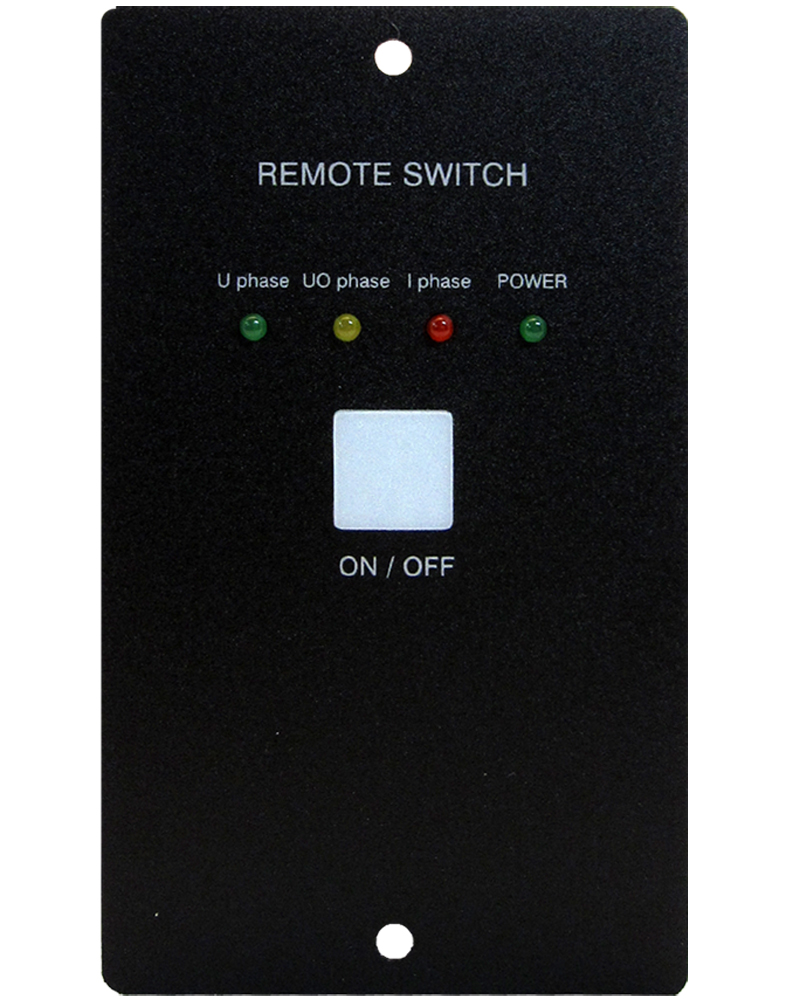 Remote Control For use with Battery Charger Models: SEC-1260A, SEC-1280A, SEC-2440A, SEC-1245A & SEC-2425A