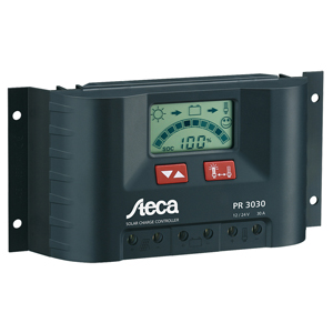 Solar Charge Controller, 12V/24V, 10 Amps, with LCD Display
