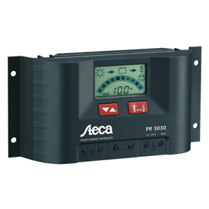 Solar Charge Controller, 12V/24V, 15 Amps, with LCD Display