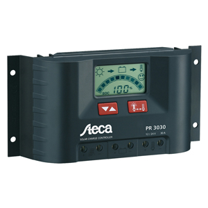 Solar Charge Controller, 12V/24V, 20 Amps, with LCD Display