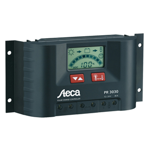 Solar Charge Controller, 12V/24V, 30 Amps, with LCD Display
