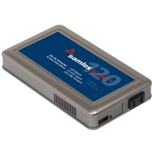 Pure Sine Wave Inverter.Input: 12 VDC, Output: 120 VAC, 120 Watts