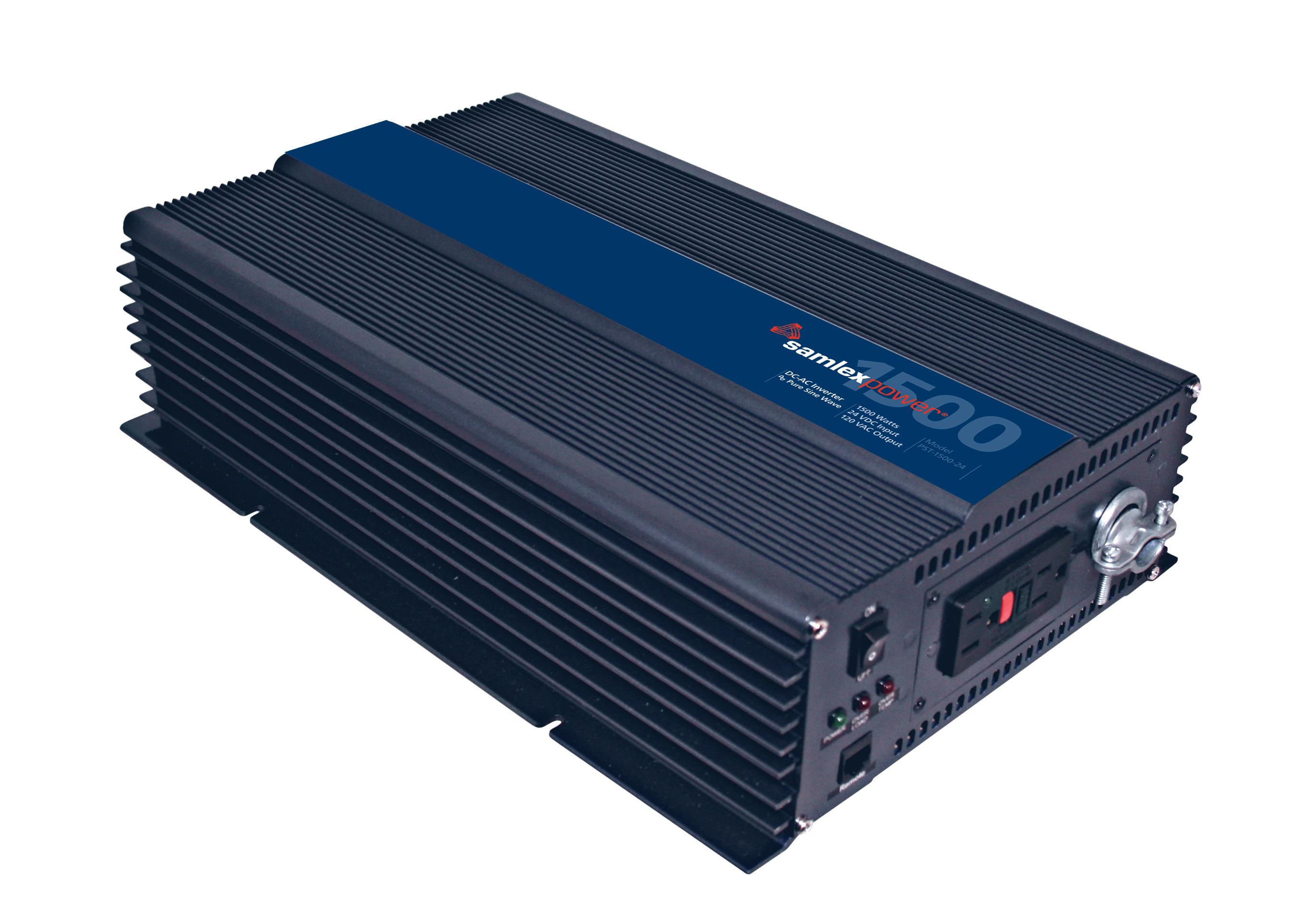 Samlex Pure Sine Wave Inverter..Input: 24 VDC, Output: 120 VAC, 1500 Watts..ETL Safety Listed at Sears.com