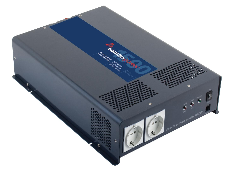 Samlex Pure Sine Wave Inverter..Input: 12 VDC, Output: 230 VAC, 1500 Watts at Sears.com