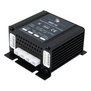 Converter Switching DC-DC, 20-32 VDC Input, 13.8 VDC Output, 12 Amps RoHS Compliant