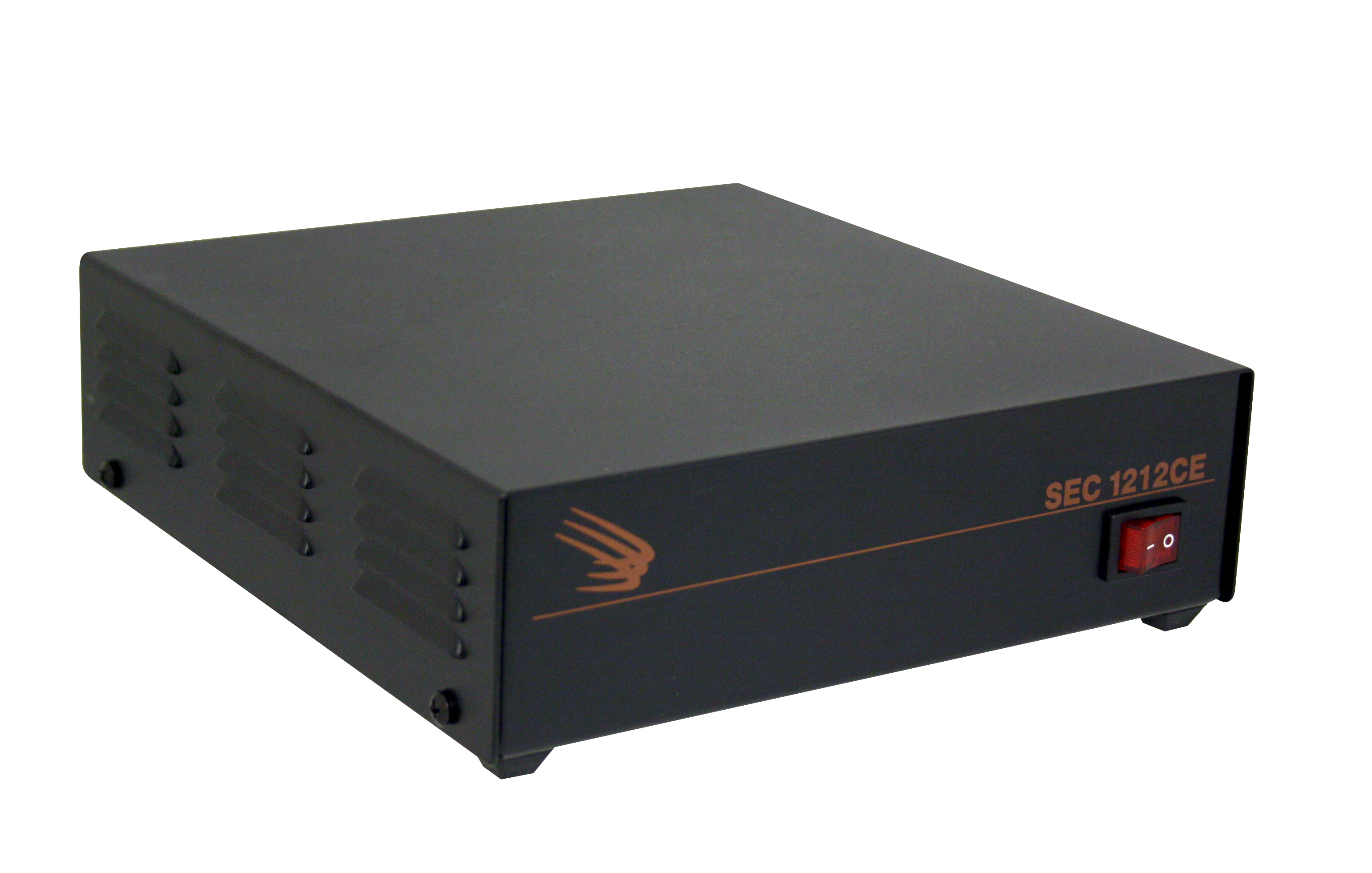 Desktop Switching Power Supply.Input: 230 VAC, Output: 13.8 VDC, 10 Amps.RoHS Compliant