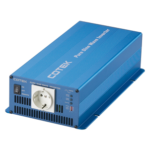 Inverter DC-AC Pure Sine Wave, 12 VDC Input, 220 VAC Output, 1000 Watts, High Surge