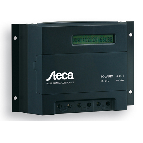 Solar Charge Controller - 48 V 40/10A, with LCD Display