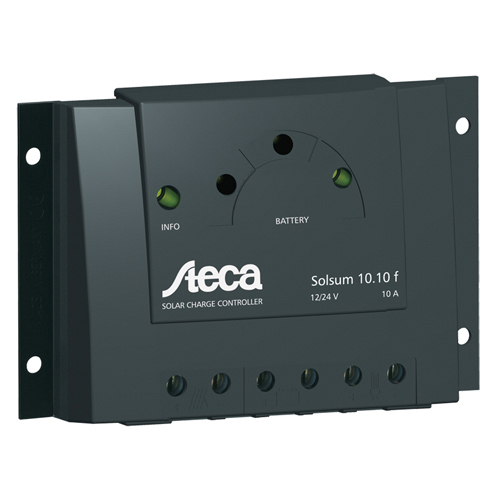 Solar Charge Controller - 12V/24V, 6 Amps, with LVD Display