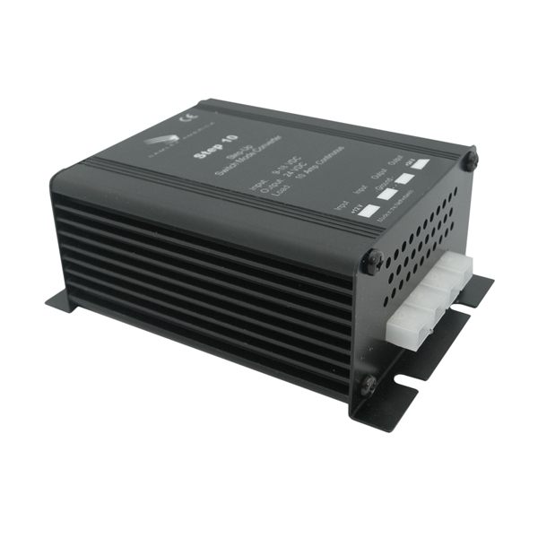 Step Up DC-DC Converter Input: 9-18 VDC, Output: 24 VDC, 10 Amps