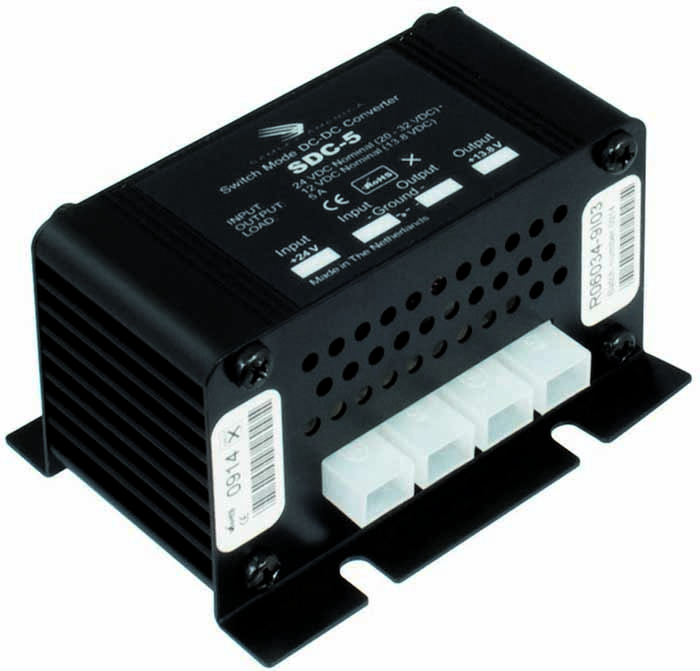 24-12V CONVERTER DC/DC 5 AMP MAXIMUM